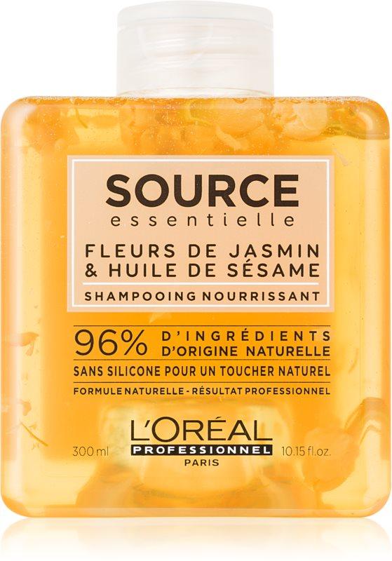 L'Oréal Professionnel Source Essentielle Jasmine Flowers & Sesame Oil подхранващ шампоан  за суха и чувствителна коса