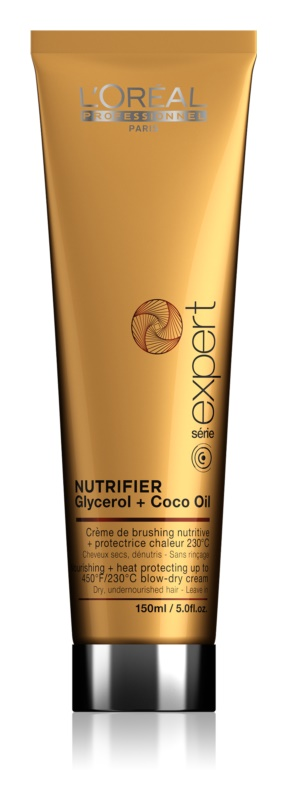 L'Oréal Professionnel Série Expert Nutrifier подхранващ крем за топлинно третиране на косата