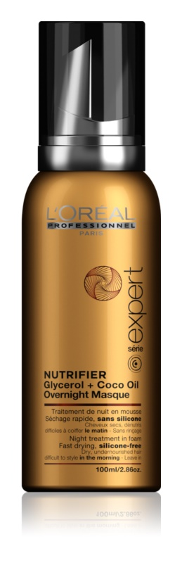 L'Oréal Professionnel Serie Expert Nutrifier Night Foam Care for Dry and Damaged Hair
