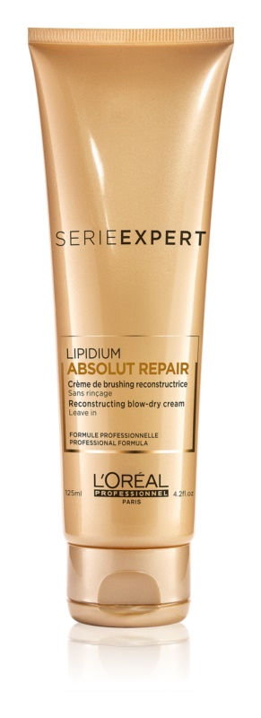 L'Oréal Professionnel Série Expert Absolut Repair Lipidium Beschermende Regenererende Crème  voor Hitte Styling