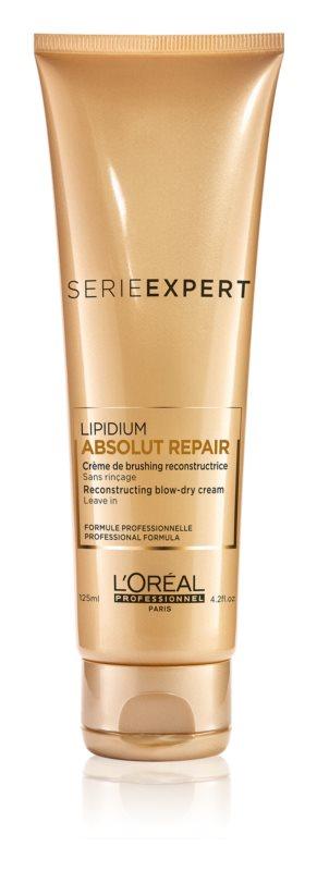 L'Oréal Professionnel Série Expert Absolut Repair Lipidium zaščitna regeneracijska krema za toplotno oblikovanje las