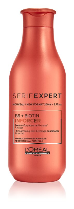 L'Oréal Professionnel Série Expert Inforcer Strenghtening Conditioner To Treat Hair Brittleness