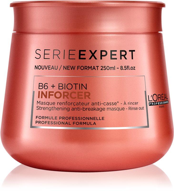 L'Oréal Professionnel Série Expert Inforcer mascarilla fortalecedora para cabello quebradizo