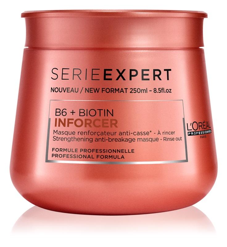 L'Oréal Professionnel Serie Expert Inforcer mascarilla fortalecedora para cabello quebradizo