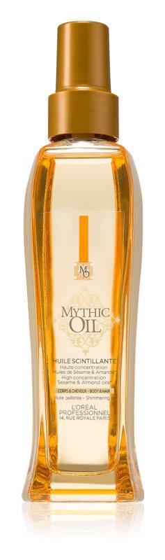 L'Oréal Professionnel Mythic Oil mieniący się olejek do włosów i ciała