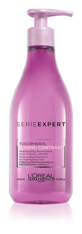 L'Oréal Professionnel Série Expert Lumino Contrast szampon rozświetlający do włosów po balejażu