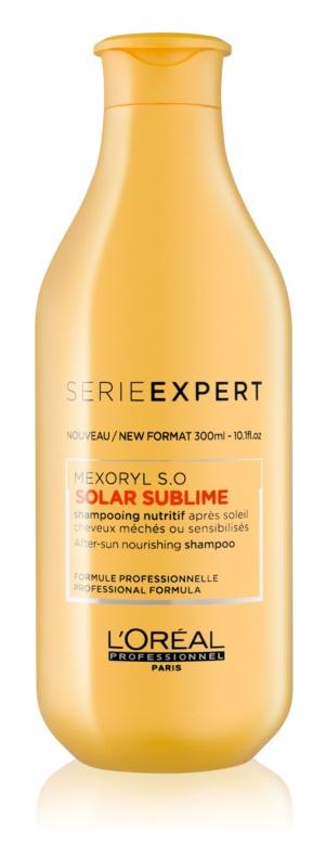 L'Oréal Professionnel Série Expert Solar Sublime shampoing régénérant pour cheveux exposés au soleil