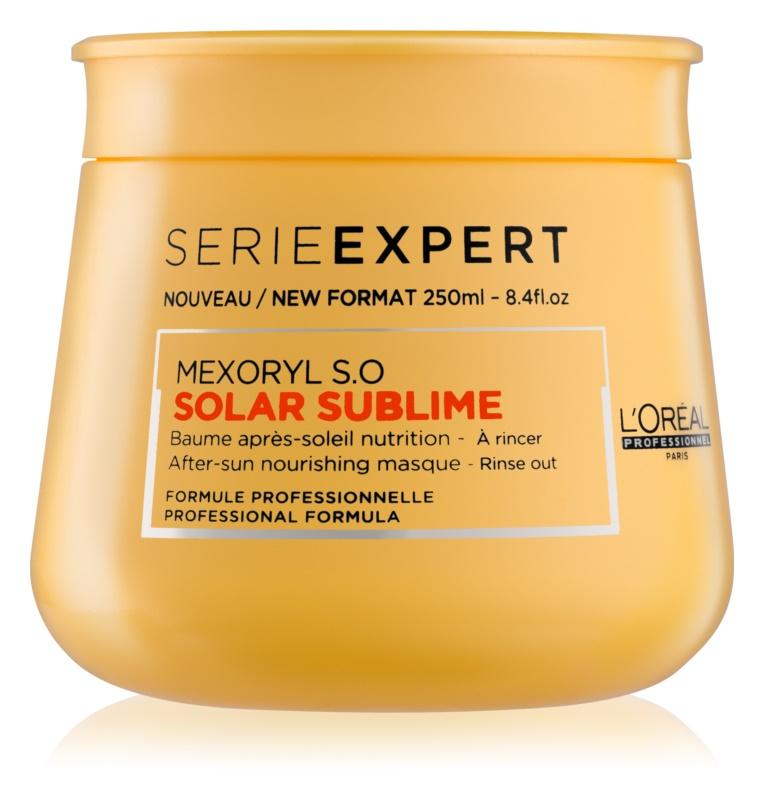 L'Oréal Professionnel Série Expert Solar Sublime maschera nutriente per capelli affaticati dal sole
