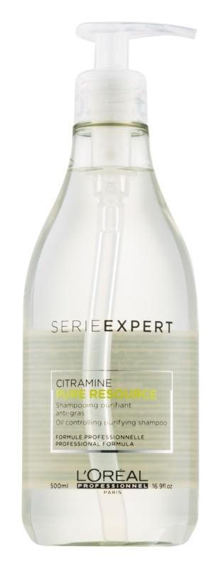 L'Oréal Professionnel Série Expert Pure Resource szampon oczyszczający do przetłuszczających się włosów i skóry głowy