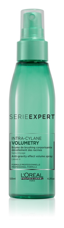 L'Oréal Professionnel Série Expert Volumetry spray a dús hatásért a hajtövektől kezdve