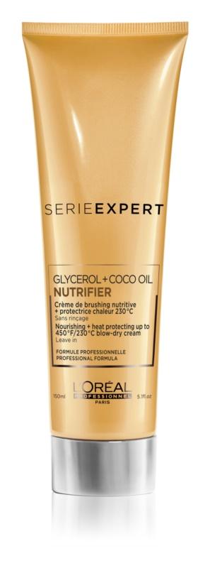 L'Oréal Professionnel Série Expert Nutrifier cremă hrănitoare și termo-protectoare