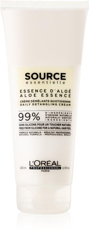 L'Oréal Professionnel Source Essentielle Aloe Essence Hair Cream Conditioner To Treat Frizz