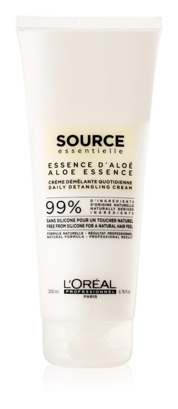 L'Oréal Professionnel Source Essentielle Aloe Essence krémes hajkondicionáló töredezés ellen