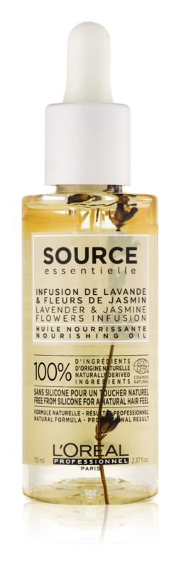L'Oréal Professionnel Source Essentielle Lavender & Jasmine Flowers Infusion vyživujúci olej pre citlivé vlasy