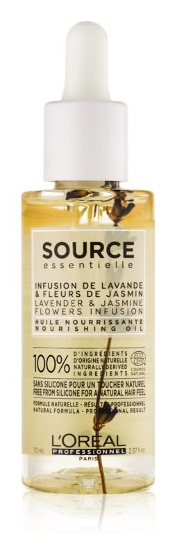 L'Oréal Professionnel Source Essentielle Lavender & Jasmine Flowers Infusion подхранващо масло за чувствителна коса