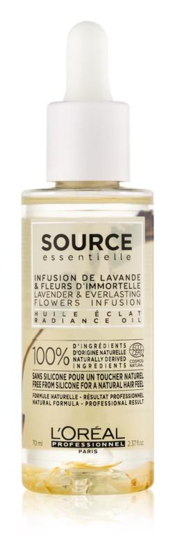 L'Oréal Professionnel Source Essentielle Lavender & Everlasting Flowers Infusion λάδι για λάμψη για βαμμένα μαλλιά
