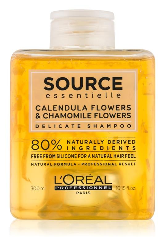 L'Oréal Professionnel Source Essentielle Calendula Flowers & Chamomile Flowers delikatny szampon do włosów