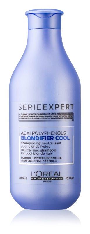 L'Oréal Professionnel Série Expert Blondifier champô para cabelo loiro neutraliza tons amarelados