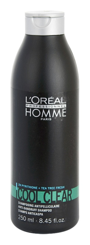 L'Oréal Professionnel Homme Cool Clear шампоан против пърхот