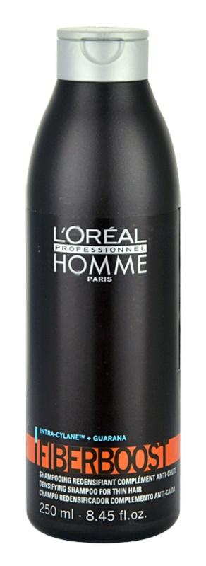 L'Oréal Professionnel Homme Fiberboost shampoo per la densità dei capelli