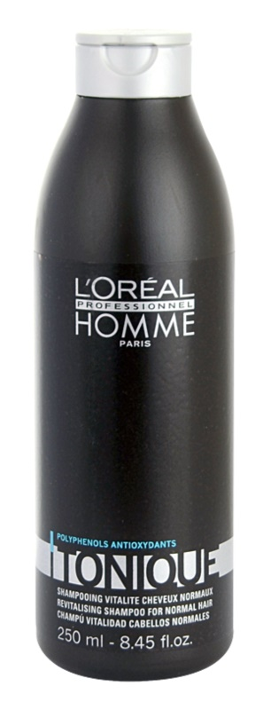L'Oréal Professionnel Homme Tonique tápláló sampon normál hajra
