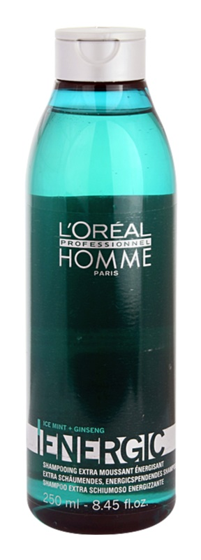 L'Oréal Professionnel Homme Energic почистващ шампоан за ежедневна употреба