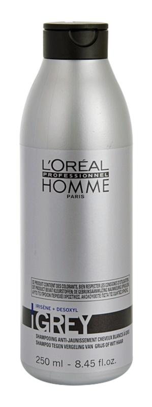 L'Oréal Professionnel Homme Grey šampon pro šedivé vlasy