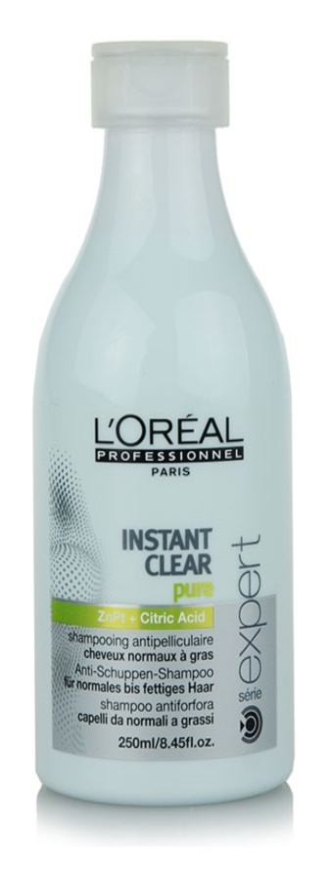 L'Oréal Professionnel Série Expert Instant Clear korpásodás elleni sampon normál és zsíros hajra