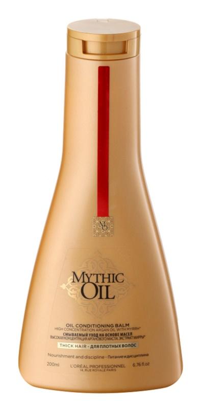 L'Oréal Professionnel Mythic Oil olejový kondicionér pro husté a nepoddajné vlasy
