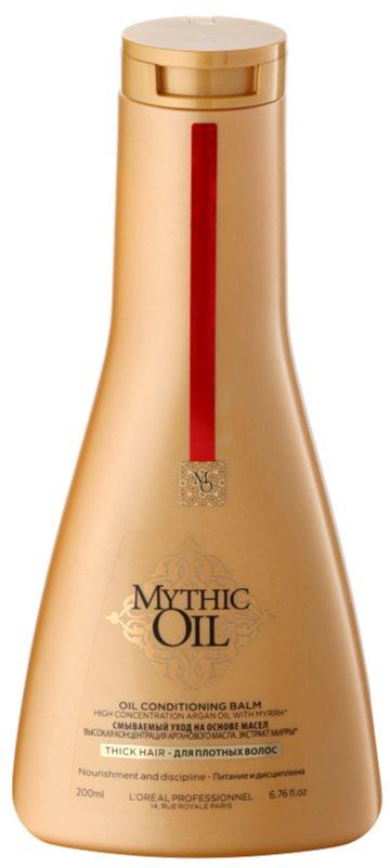 L'Oréal Professionnel Mythic Oil oljasti balzam za goste in neobvladljive lase
