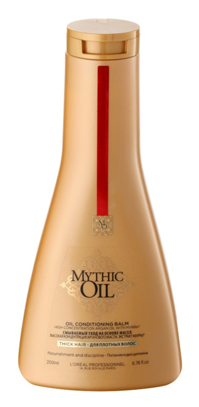L'Oréal Professionnel Mythic Oil ulei balsam pentru păr gros și indisciplinat