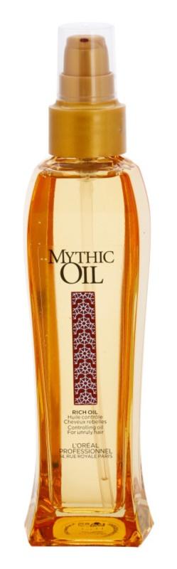 L'Oréal Professionnel Mythic Oil olaj a rakoncátlan hajra