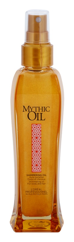 L'Oréal Professionnel Mythic Oil Shimmering Oil For Body And Hair