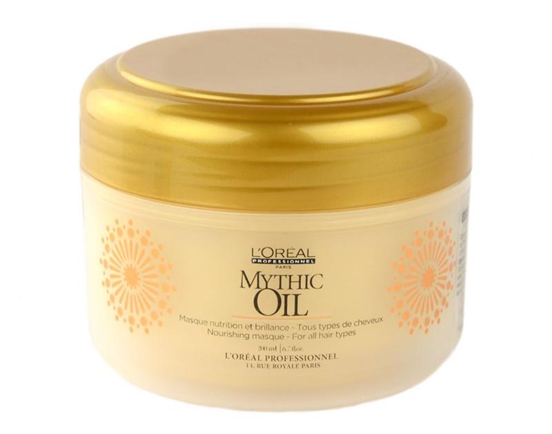 l or al professionnel mythic oil masque nourrissant pour tous types de cheveux. Black Bedroom Furniture Sets. Home Design Ideas