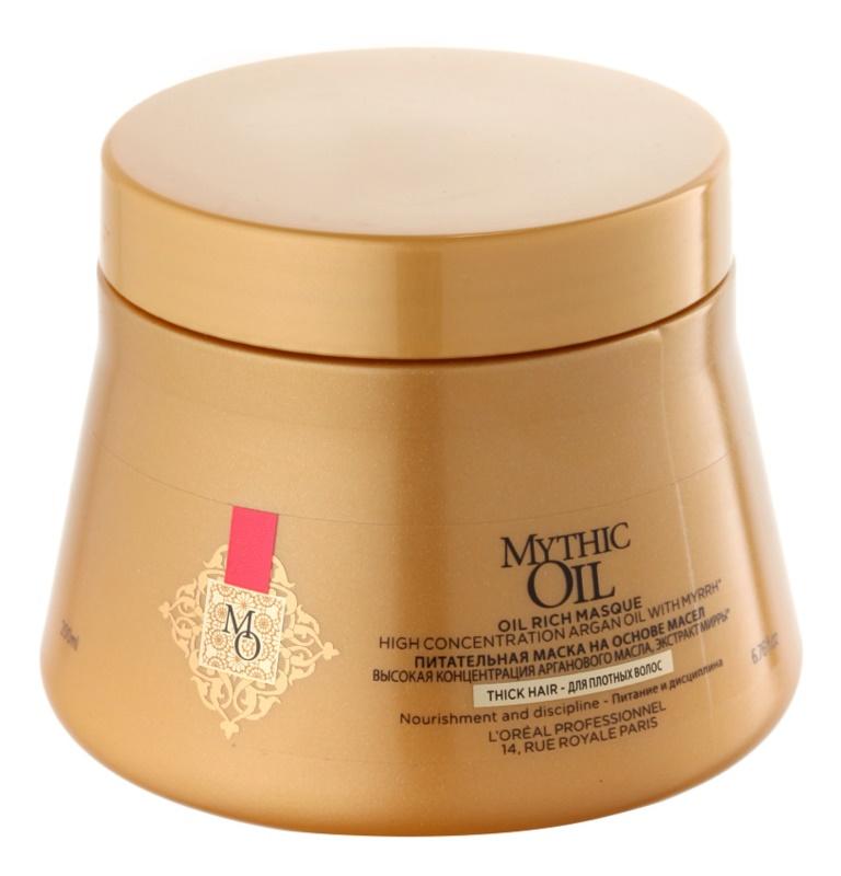 L'Oréal Professionnel Mythic Oil Nährende Kur für dichtes und widerspenstiges Haar