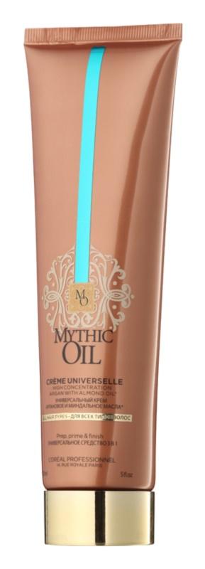 L'Oréal Professionnel Mythic Oil többcélú krém a hajformázáshoz, melyhez magas hőfokot használunk