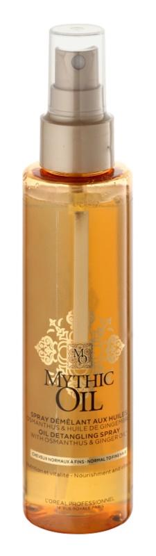 L'Oréal Professionnel Mythic Oil spray para um fácil pentear para cabelos normais e finos