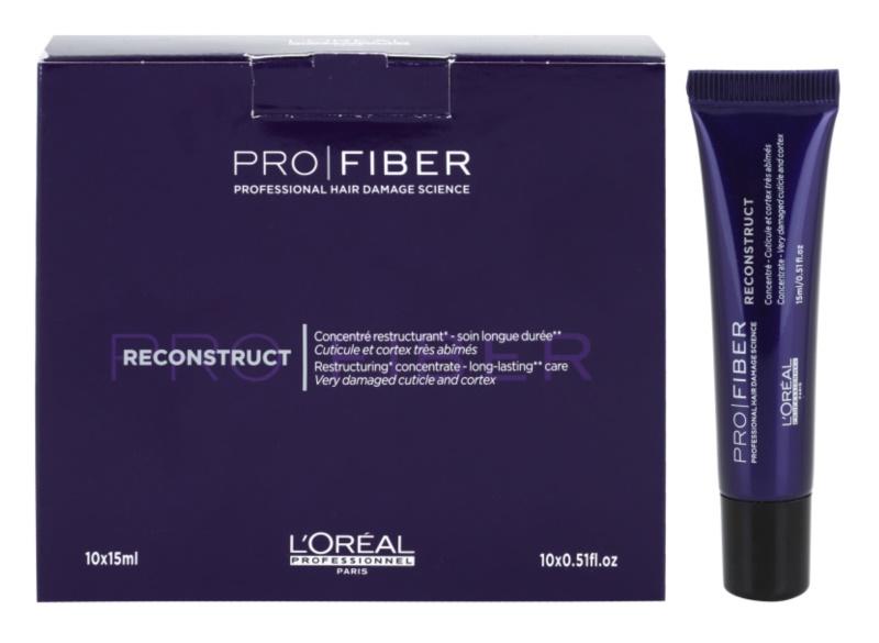 L'Oréal Professionnel Pro Fiber Reconstruct cuidado regenerador para cabelo seco e danificado