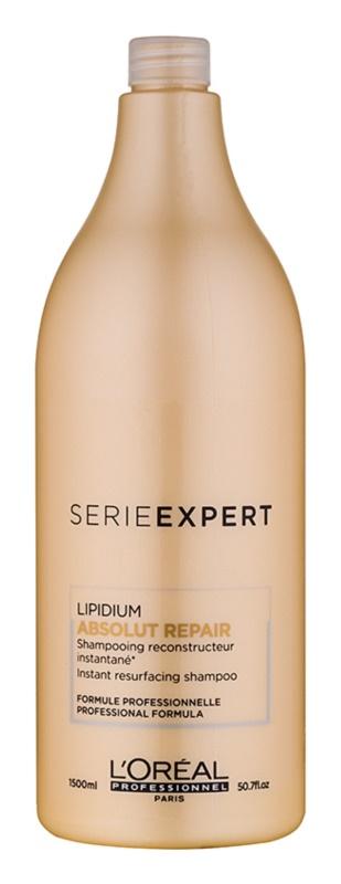 L'Oréal Professionnel Série Expert Absolut Repair Lipidium Voedende Shampoo  voor Sterk Beschadigd Haar