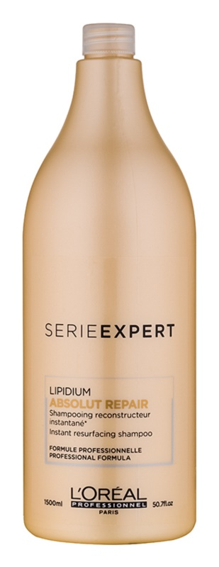 L'Oréal Professionnel Série Expert Absolut Repair Lipidium θρεπτικό σαμπουάν για πολύ κατεστραμμένα μαλλιά