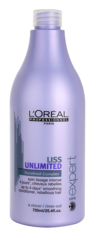L'Oréal Professionnel Série Expert Liss Unlimited Gladmakende Conditioner  voor Onhandelbaar en Pluizig Haar
