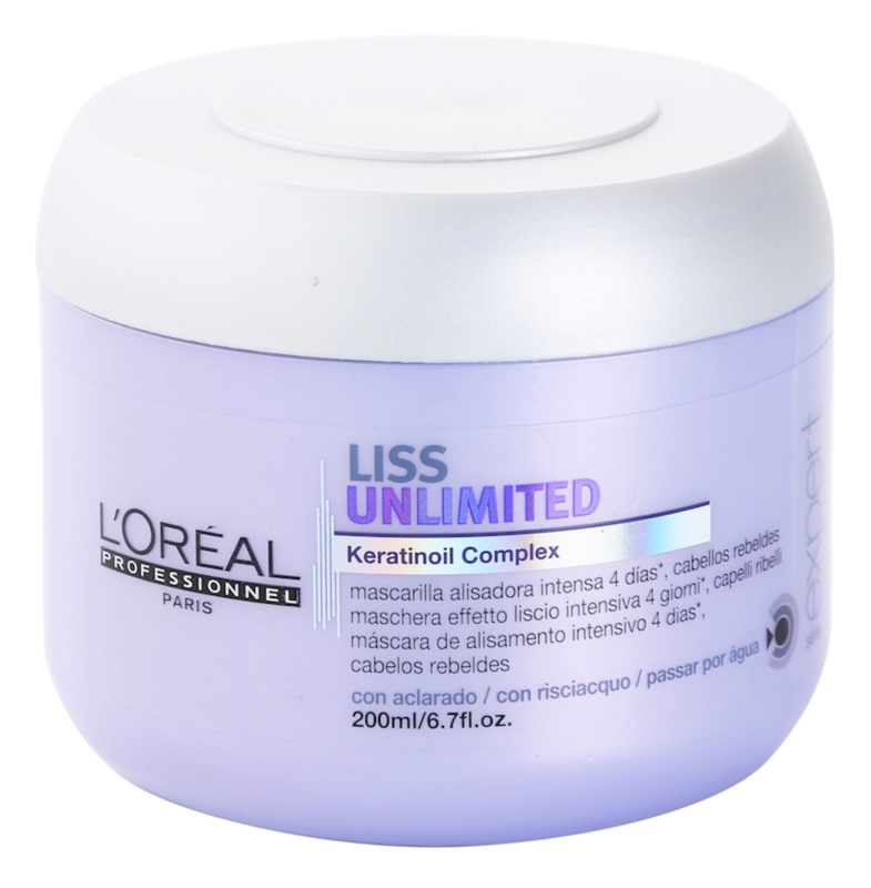 L'Oréal Professionnel Série Expert Liss Unlimited maseczka wygładzająca do włosów nieposłusznych i puszących się