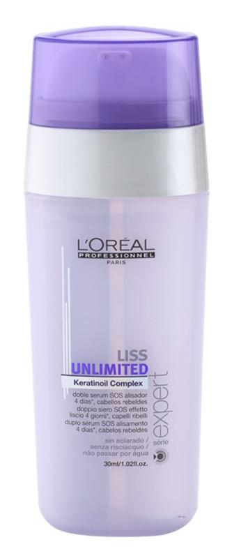 L'Oréal Professionnel Série Expert Liss Unlimited uhlazující sérum pro nepoddajné a krepatějící se vlasy