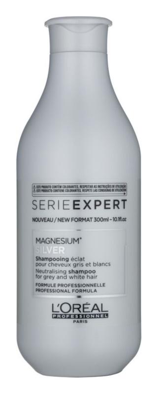 L'Oréal Professionnel Série Expert Silver champô prateado neutraliza tons amarelados