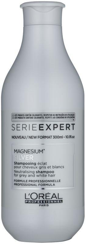 L'Oréal Professionnel Série Expert Silver zilvershampoo neutraliseert gele Tinten