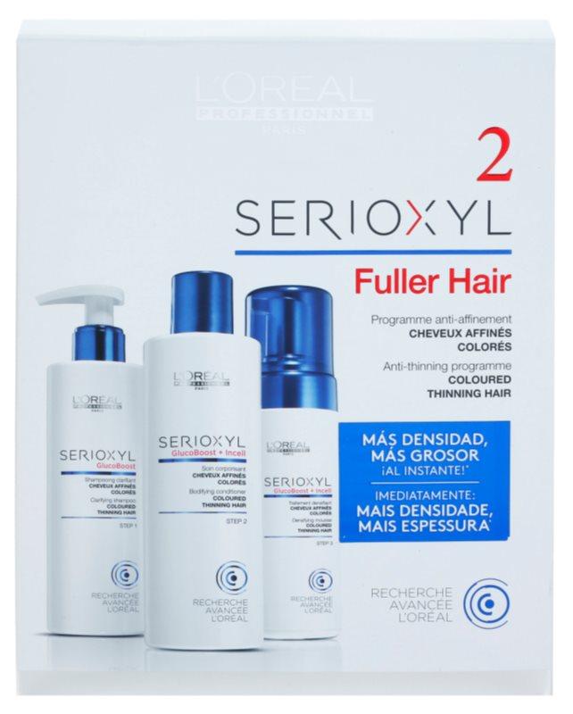 L'Oréal Professionnel Serioxyl GlucoBoost + Incell kozmetični set II.