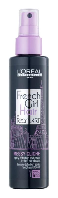 L'Oréal Professionnel Tecni Art French Girl Hair spray stylizujący do włosów normalnych i delikatnych