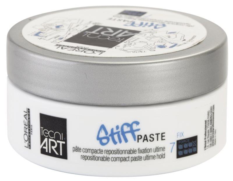 L'Oréal Professionnel Tecni Art Stiff pasta modelatoare cu efect matifiant