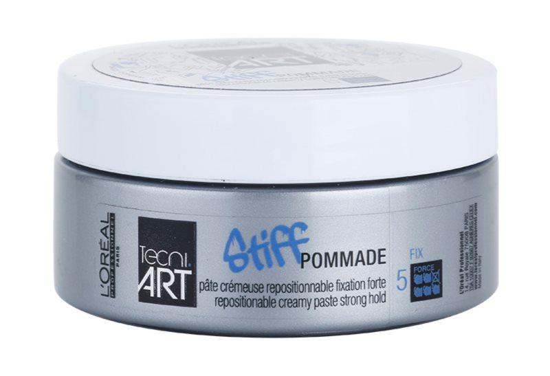 L'Oréal Professionnel Tecni Art Stiff pomada con textura cremosa  fijación fuerte