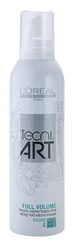 L'Oréal Professionnel Tecni Art Volume mousse de fixação forte para dar volume